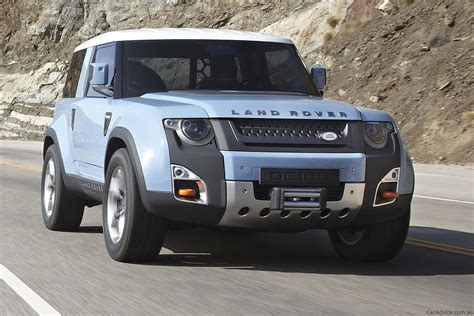land rover sedan concept land rover dc100 concept revised with greater off road