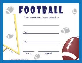 Football Certificates Templates Free Printable Cheerleading Award Certificates Quotes