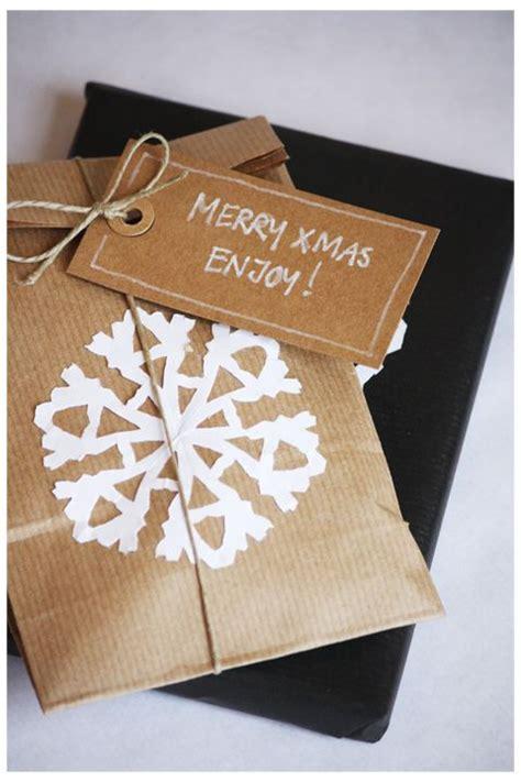 snowflake gift wrap kraft paper with white snowflake gift wrap use this