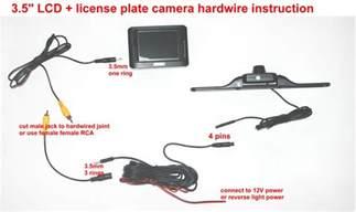 backup camera wiring connection backup free engine image