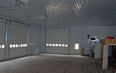 pole barn interior wall ideas pole buildings maryland stoltzfus builders lancaster pa