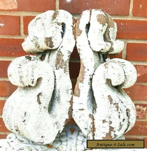 Corbels For Sale In Canada 2 Antique Wooden Corbels Ornate Scroll Primitive