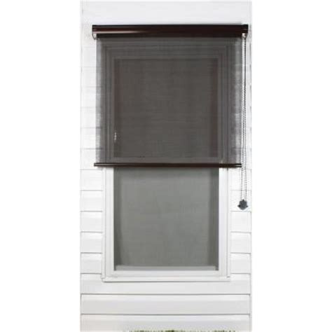 coolaroo brown exterior roller shade 80 uv block price