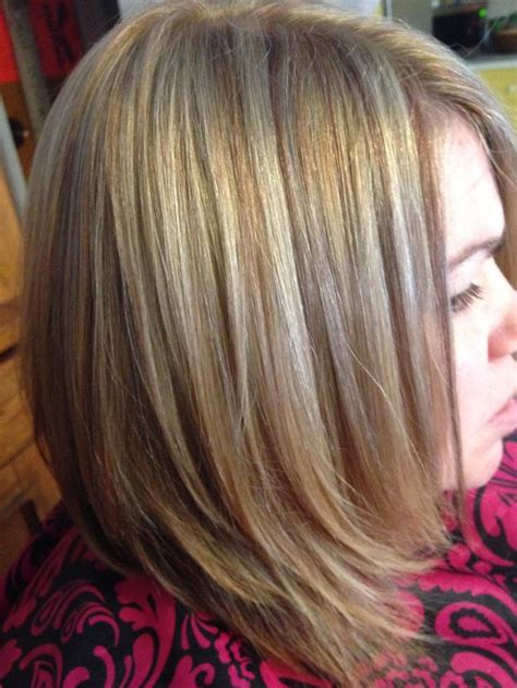 foil hair colors with blondies 3 color hair foil sara s hair creations pinterest
