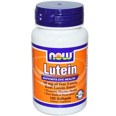 Vitamin Lutena now foods lutein 10 mg 120 softgels iherb