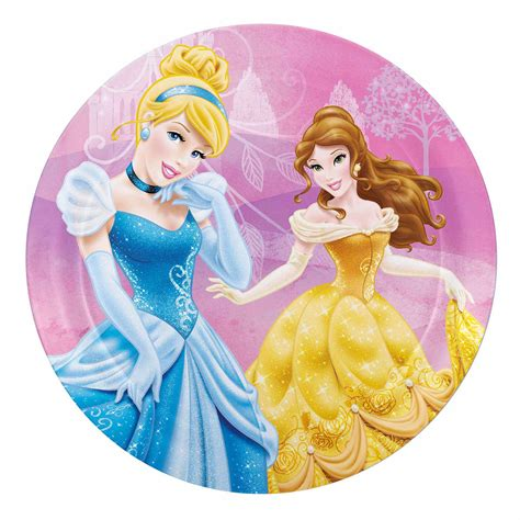 Sweet Designs Kitchen by Disney Princess Princess Plates By Zak