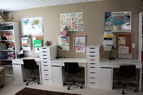 homeschool room it s just brandon and s home school room tour