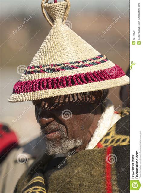 basotho man  hat   kings parade editorial image image