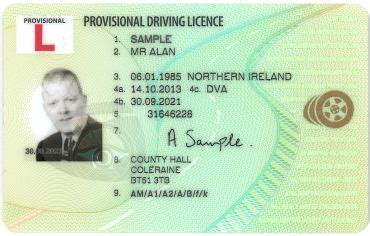 Provisional driving licence   Driving Lessons and crash