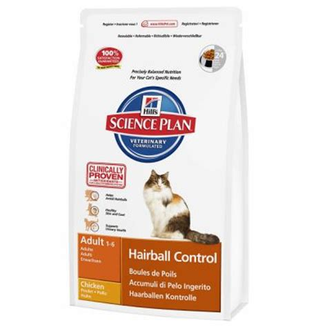 Pro Plan Cat Derma Plus Hairball Controll Opti Derma 1 3kg hill s feline hairball croquettes pour chat zooplus