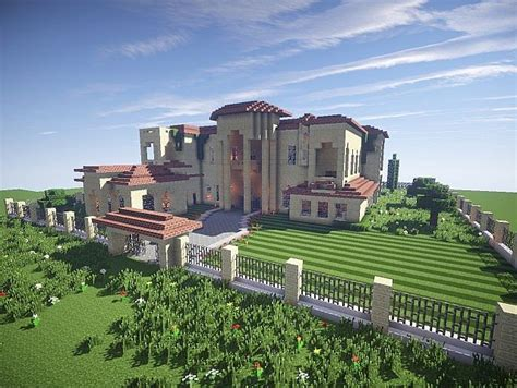 Farmhouse Building Plans california mansion minecraft house design