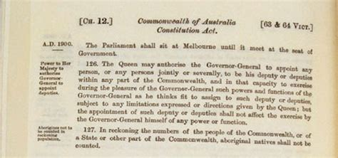 government policy in relation to aboriginal barani