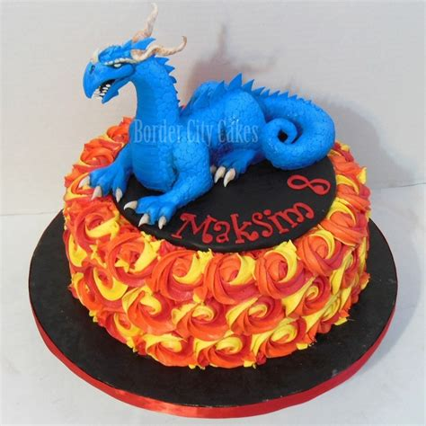 Dragon Rosette Cake Cakecentral M