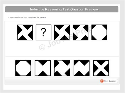 pattern aptitude test questions logical reasoning test exles info preparation