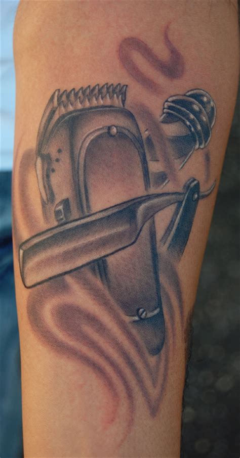 by marvin silva tattoos black and gray barber s