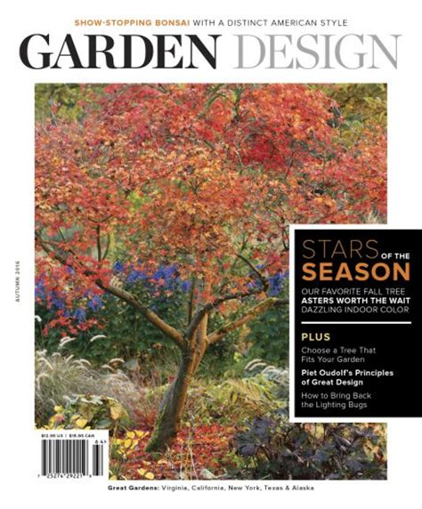 Garden Decor Magazine Garden Design Magazine Winners Announced