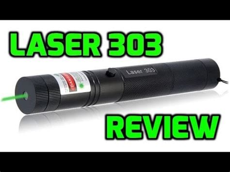 Laser Pointer 303 T1310 laser 303 green 532nm burning laser pointer review