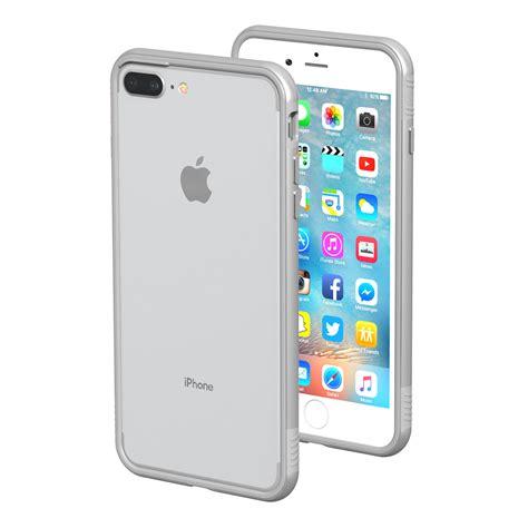 thanotech k11 iphone 8 plus 7 plus aluminium bumper silver