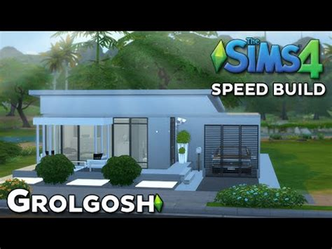 the sims house building modern abode speed build youtube idolza the sims 4 speed build modern home youtube