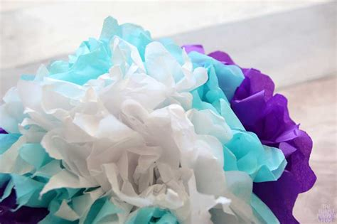 How To Make Your Own Tissue Paper - how to make tropical tissue paper flowers 187 the purple