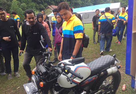 Vest Raisha hamish daud meriahkan acara suzuki bike meet cibodas