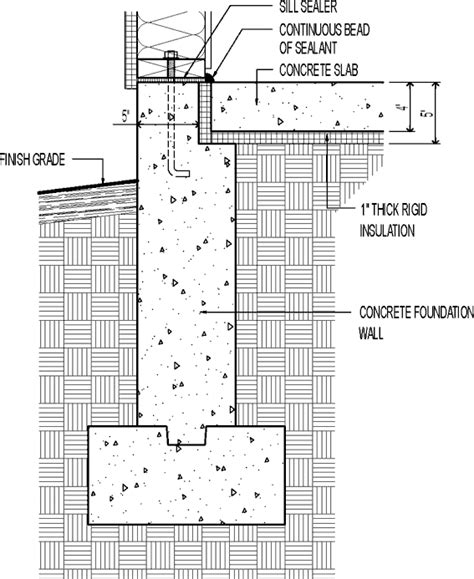 irc section 672 100 slab on grade floor plans small 3 bedroom house