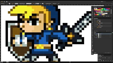 Drawing 8 Bit Characters by 32 Bit Characters Www Imgkid The Image Kid Has It