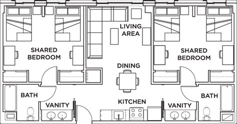 shared bathroom floor plans shared bathroom floor plans 28 images parsons hall