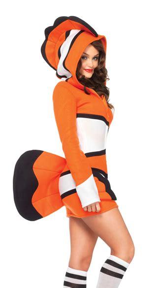 cozy orange fish costume clownfish costume fish costume