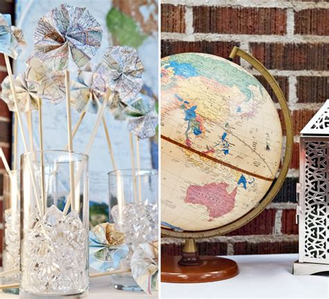 travel themed wedding decorations travel inspired wedding d 233 cor dotty vintage weddings