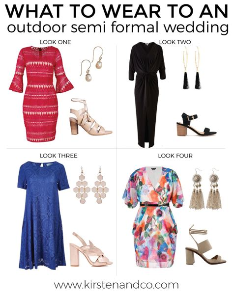 what to wear to a semi formal what to wear to an outdoor semi formal wedding kirsten