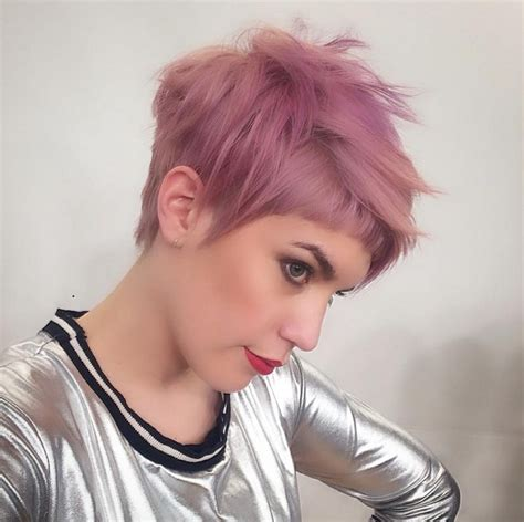 pinks new haircut 2015 short edgy pixie hairstyles best short hair styles