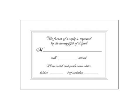 how to sign a wedding response card response card wording minus the wiggle room weddingbee