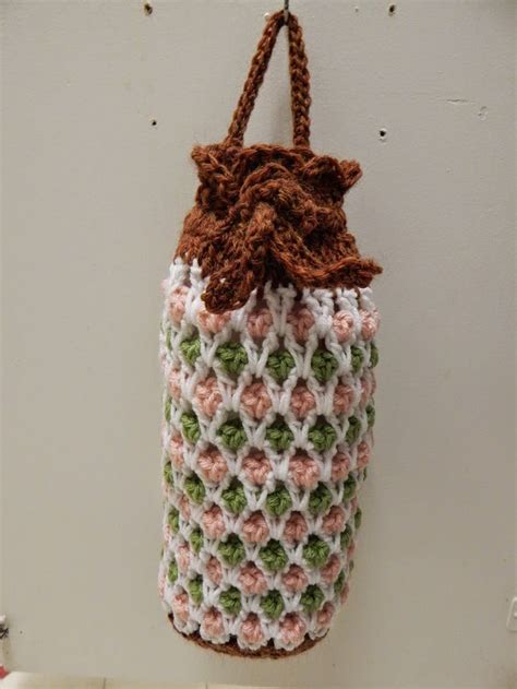 crochet grocery bag pattern by haley waxberg free pattern for crochet plastic grocery bag holder by