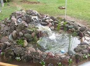 Backyard Pond Ideas Small Small Backyard Koi Pond Ideas Landscaping Gardening Ideas