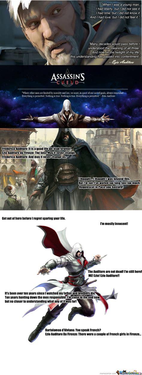 Ezio Memes - ezio auditore da firenze quotes 1 by vuk111 meme center