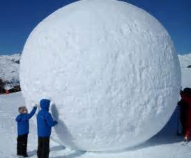 Patio Gifts by How To Roll The Hugest Snowball Possible Your Essential