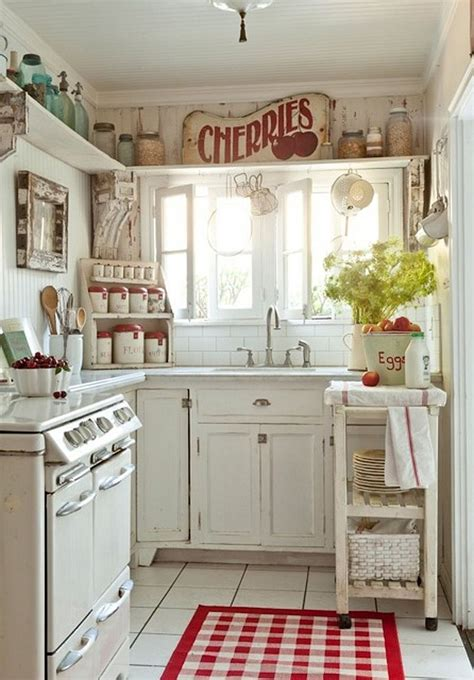 Pink Kitchen Canisters by 50 Fabulous Shabby Chic Kitchens That Bowl You Over