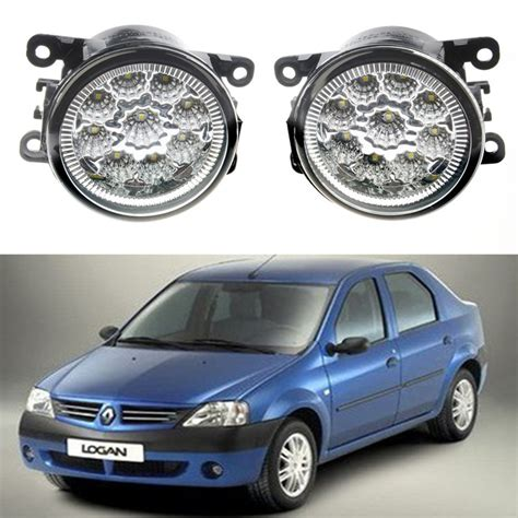 Led Fog Ls by For Renault Logan Saloon Ls 2004 2015 Car Styling Front