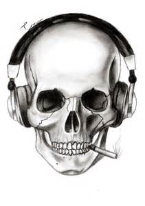 25 skull headphones ideas skull art skulls skull design