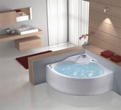 bolero baignoire d angle 140 x 140 cm en acrylique ref