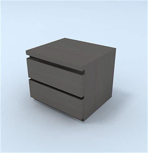 comodino malm archibit generation s r l modelli 3d letto comodino