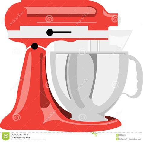 Kitchen mixer stock vector. Image of kitchen, baking