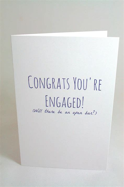 Gift Cards For Engaged Couples - jolly good designs funny engagement card from denver by jolly goods shoptiques