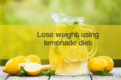 Lemon Diet Detox Results by Lose Weight Using Lemonade Diet Healthcare Fitness