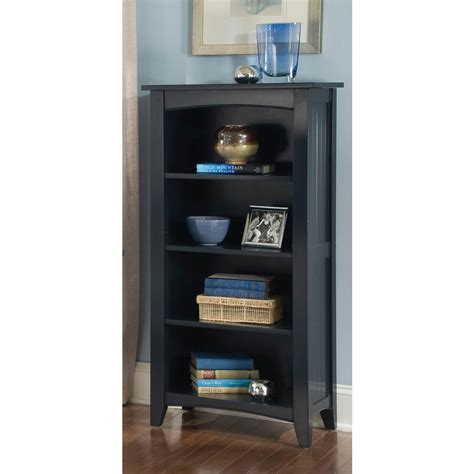 2 shelf bookcase black south shore axess 5 shelf pure black bookcase 7270758