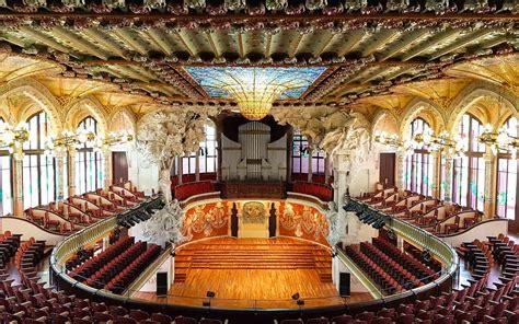 casa della musica barcellona palau de la musica catalana info e biglietti visitare