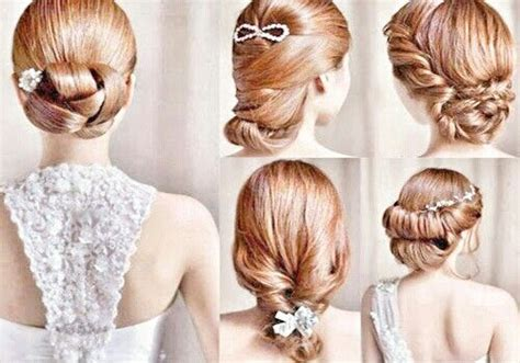 tutorial jenis kepang rambut jenis sanggul hairstyle pinterest wedding hairstyles