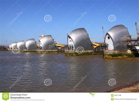 thames barrier animation the thames barrier royalty free stock photos image 20617188