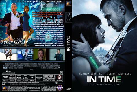 in time dvd custom covers in time custom dvd covers